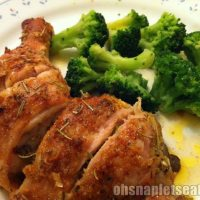 Easy Spice Roasted Chicken Leg Quarters