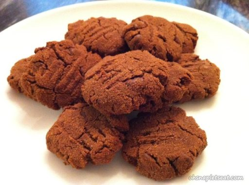 Paleo Double Chocolate Chip Cookies