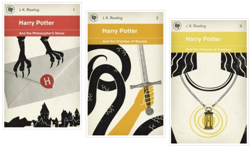 Harry Potter Reimagined Book Cover 500x293 Book Covers Reimagined