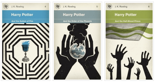 Harry Potter Reimagined Book Cover2 500x264 Book Covers Reimagined