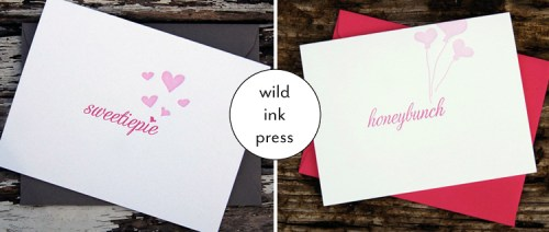 wild ink press valentines 500x212 Valentines Day Card Round Up, Part 4