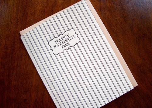 Kirtland House Stripes 500x357 Seasonal Stationery: Fathers Day Cards