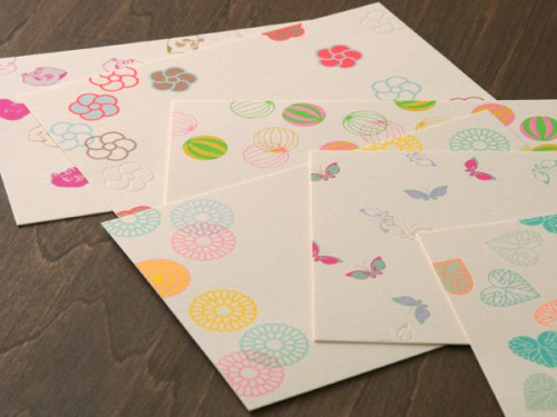 candy pattern stationery 500x375 Winged Wheel