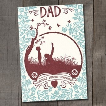 old school stationers Seasonal Stationery: Fathers Day Cards