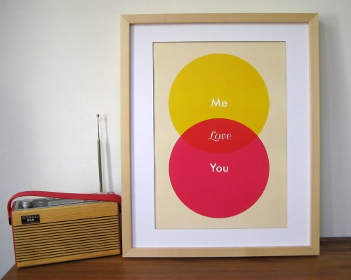 Love Ven Diagram Print 500x400 Ruka Ruka