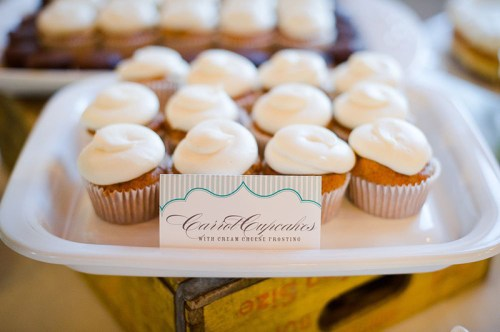 Wedding Cupcake Sign 500x332 Amber + Seans Rustic Wedding Invitations
