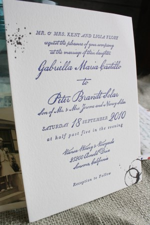 vintage travel airmail wedding invitation text 300x450 Vintage Airmail Inspired Wedding Invitations