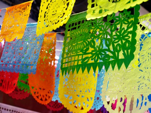 Mex Events NYIGF Papel Picado 500x374 NYIGF, Part 1