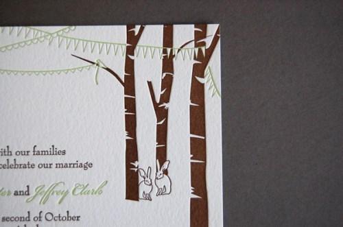 Pistachio Press Letterpress Wedding Invitations Celebration2 500x331 Wedding Invitations   Pistachio Press