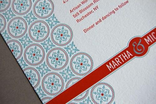 Pistachio Press Letterpress Wedding Invitations Tea Party2 500x333 Wedding Invitations — Pistachio Press, Part2