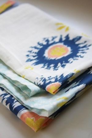 leah duncan aztec scarf2 300x450 Paper Artwork   Leah Duncan