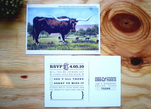 texas ranch wedding invitations rsvp Texas Ranch Wedding Invitations