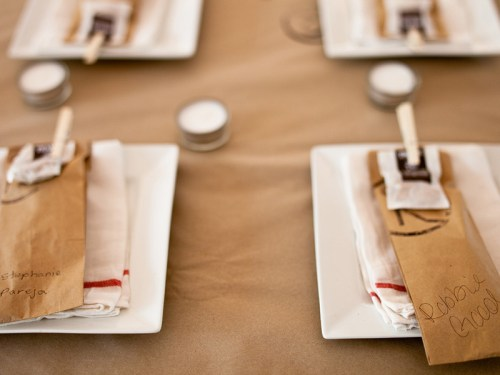 texas ranch wedding table setting 500x375 Texas Ranch Wedding Invitations