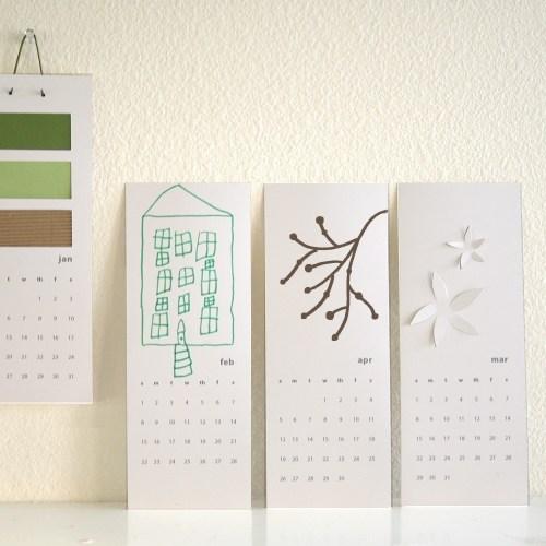 A Little Hut 2011 Printable Calendar 500x500 2011 Calendar Round Up, Part 1
