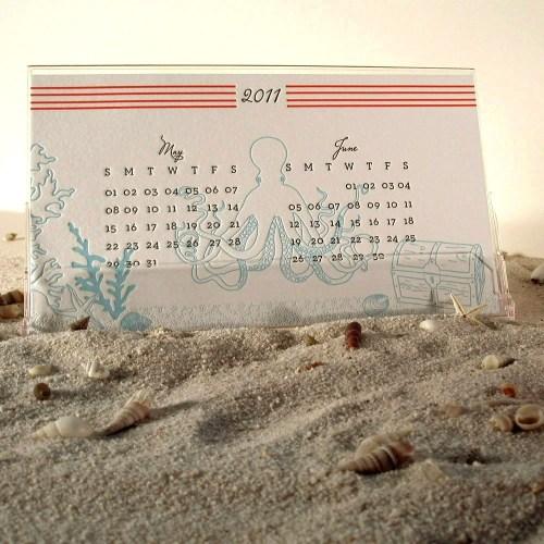 Flora Fauna Press 2011 Marine Calendar 500x500 2011 Calendar Round Up, Part 1