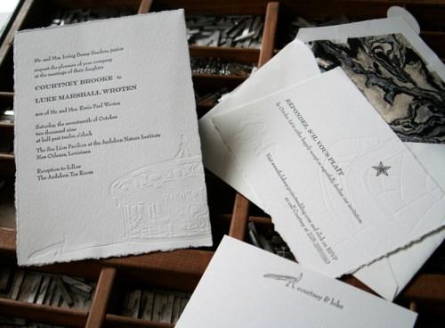 blackbird letterpress custom wedding invitations carousel 500x368 Wedding Invitations   Blackbird Letterpress
