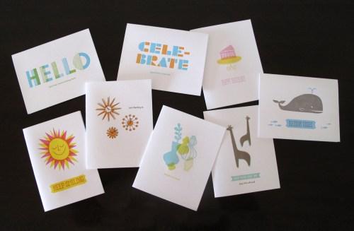 lulu dee letterpress card line 500x327 Lulu + Dee