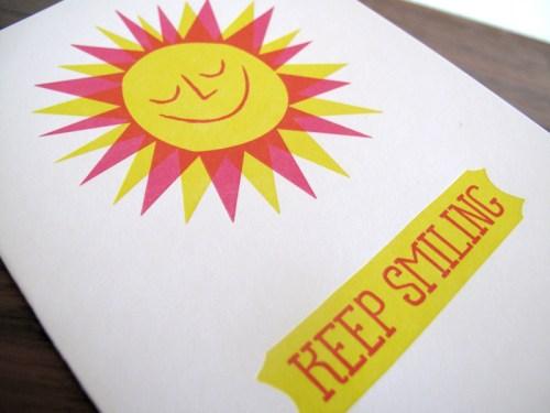 lulu dee letterpress card sun2 500x375 Lulu + Dee