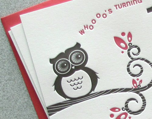 Custom Birthday Invitations Sweet Harvey Owl2 500x394 Owl Birthday Party Invitations