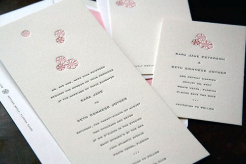 page stationery classic wedding invitation tea 500x333 Wedding Invitations   Page Stationery