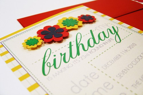 Kate Spade Inspired Birthday Party Invitations 500x333 Kate Spade Inspired Birthday Party Invitations