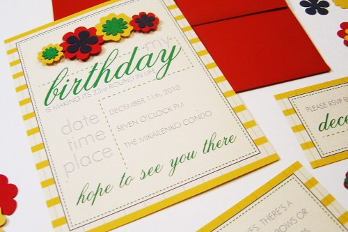 Kate Spade Inspired Birthday Party Invitations6 500x333 Kate Spade Inspired Birthday Party Invitations