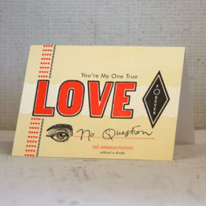 Hammerpress Valentines Day Card 300x300 Seasonal Stationery: Valentines Day Cards, Part 2