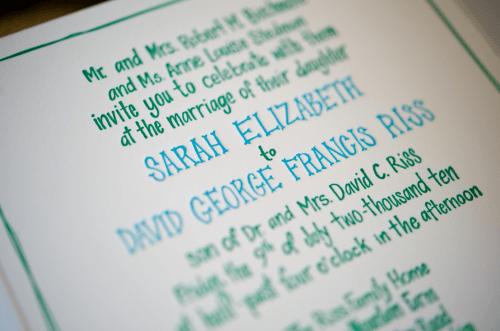 Hand Illustrated Letterpress Farm Wedding Invitation Wording 500x331 Elizabeth and Davids Hand Illustrated Farm Wedding Invitations