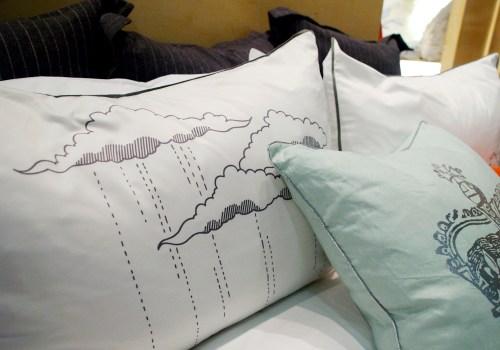 Bliss Living London Raining Bed Pillows 500x350 January 2011 NYIGF, Part 2
