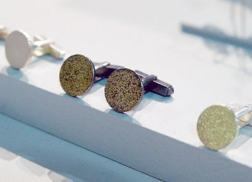 Maya Selway Oxidized Jewelry Cufflinks 500x361 January 2011 NYIGF, Part 2