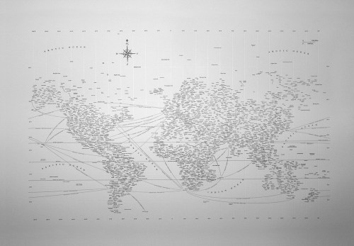 letterpress typographic map 500x347 {today I love...}