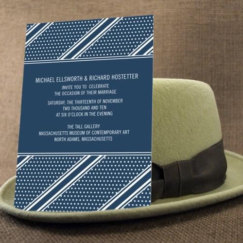 two trick pony blue wedding Invitation 500x500 The Printing Process: Screen Printing