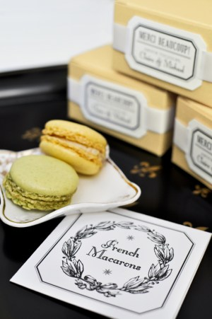 Parisian Wedding Invitation Inspiration Macarons2 300x451 Parisian Wedding Invitation Inspiration