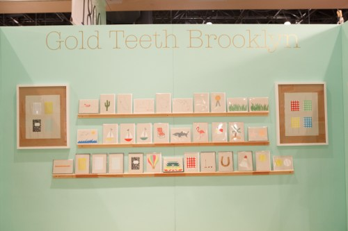 National Stationery Show Gold Teeth Brooklyn3 500x333 National Stationery Show 2011   Part 7