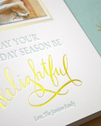 Custom Classic Letterpress Greeting Cards by Sugar Paper