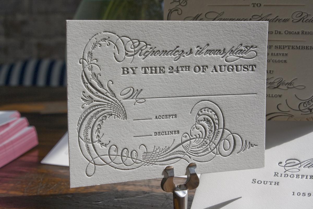 ilene lawrences chateau inspired formal wedding invitations formal wedding invitations Thanks ladies