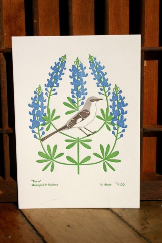 dutch door state bird 550x824 Geographic Paper Love