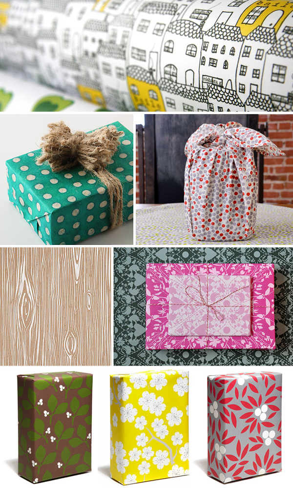 Holiday Gift Wrap Ideas Inspiration Pattern Holiday Gift Wrap Inspiration, Part 2