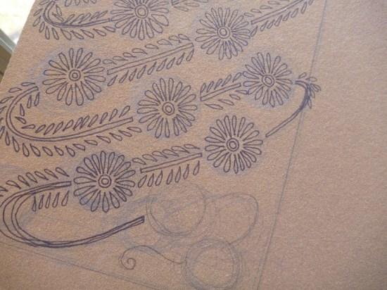 Printing Methods Block Printing Katharine Watson3 550x412 The Printing Process: Block Printing