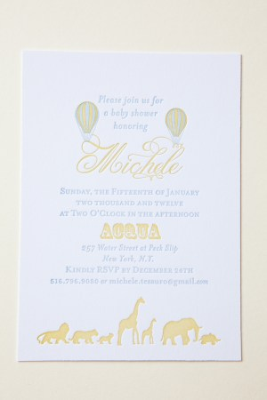 Smitten Owl Hot Air Balloon Baby Shower Invitations3 300x450 Micheles Hot Air Balloon Baby Shower Invitations