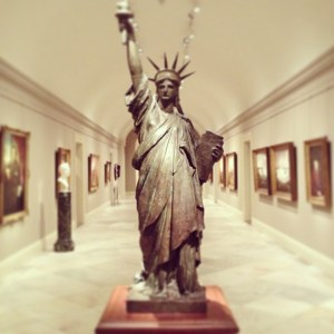 National Portrait Gallery Liberty Sculpture 300x300 DC Guide: What To Do