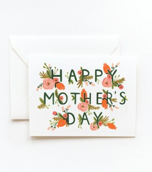 garden mothersday card riflepaperco1 300x340 Seasonal Stationery: Mothers Day Cards