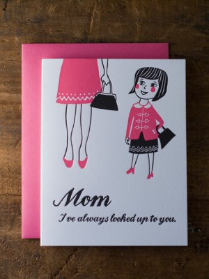 mother daughter wildhorsepress 300x400 Seasonal Stationery: Mothers Day Cards