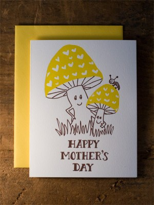 mothers day toadstools wildhorsepress 300x400 Seasonal Stationery: Mothers Day Cards