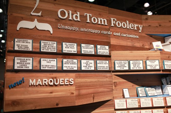 NSS 2012 Old Tom Foolery 1 550x366 National Stationery Show 2012, Part 10