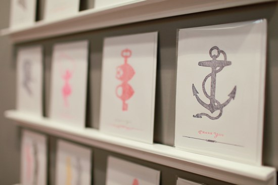 NSS 2012 Sesame Letterpress 18 550x366 National Stationery Show 2012, Part 6