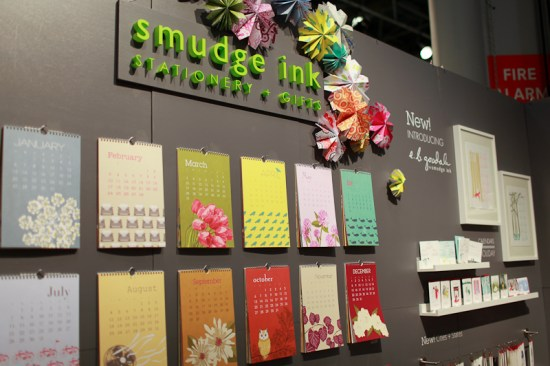 NSS 2012 Smudge Ink 2 550x366 National Stationery Show 2012, Part 6