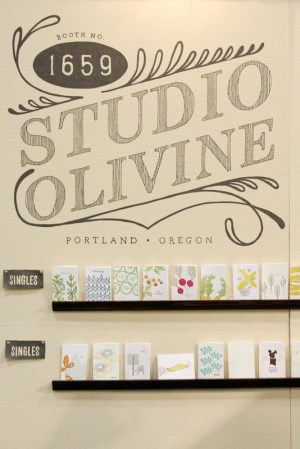 NSS 2012 Studio Olivine 2 300x449 National Stationery Show 2012, Part 9