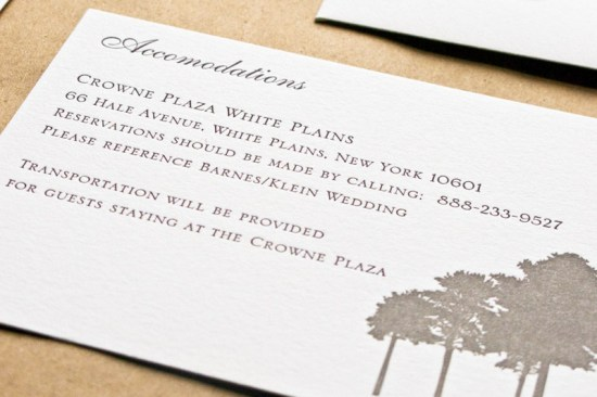Historic Stone Mill Letterpress Wedding Invitations Laura Macchia2 550x366 Amber + Jeffs Historic Stone Mill Letterpress Wedding Invitations