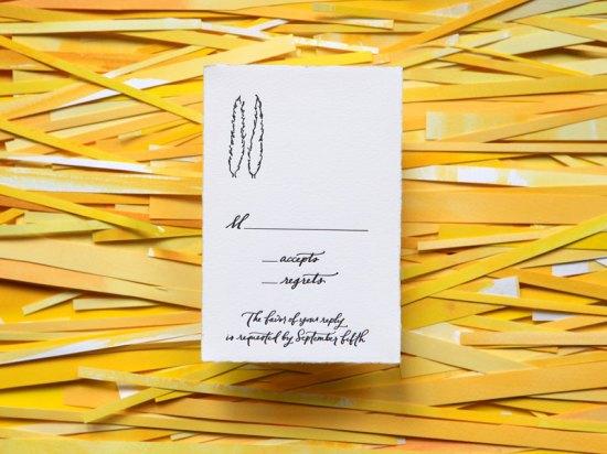 Wedding Invitations Ligature Collection Paperfinger3 550x412 Ligature Wedding Invitation Collection by Paperfinger